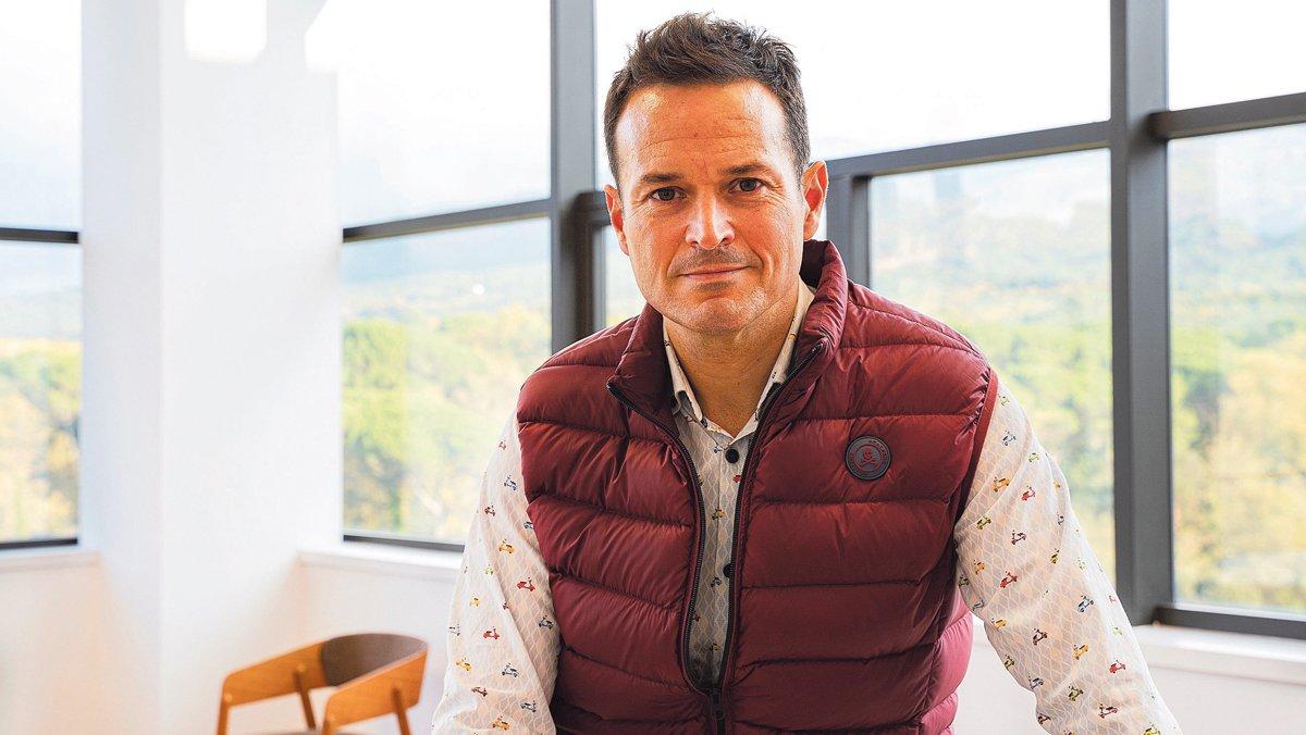 Santi Aliaga, CEO de Zyrcular Foods.
