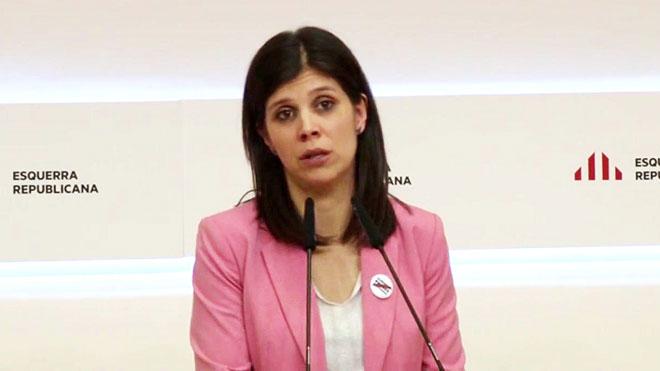 La secretaria general adjunta deERC, Marta Vilalta.