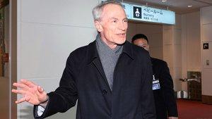 Jean-Dominique Senard, llegaal aeropuerto de Tokyo.