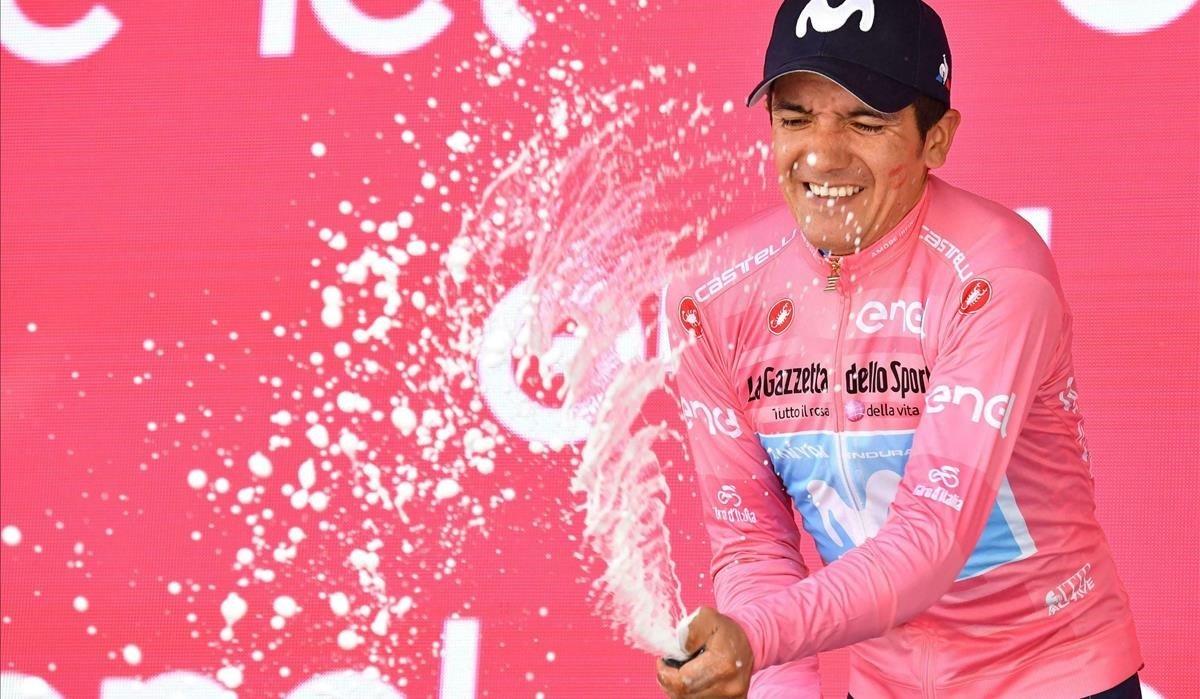 Richard Carapaz, último ganador del Giro.