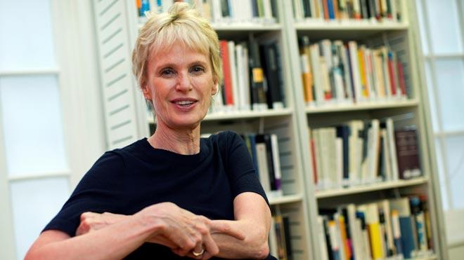 Siri Hustvedt, en el Instituto Cervantes de Londres.