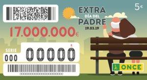 Sorteo de la ONCE del Día del Padre 2019: precio del cupón, fecha y premios