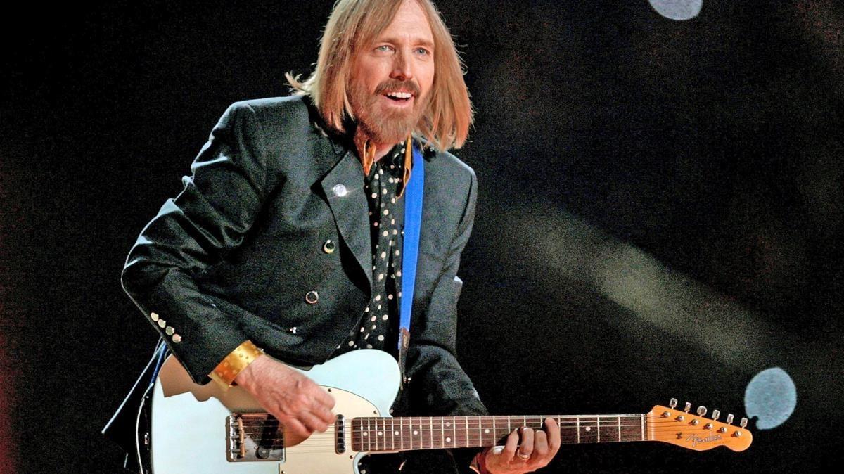 Tom Petty, en Arizona, en el 2008