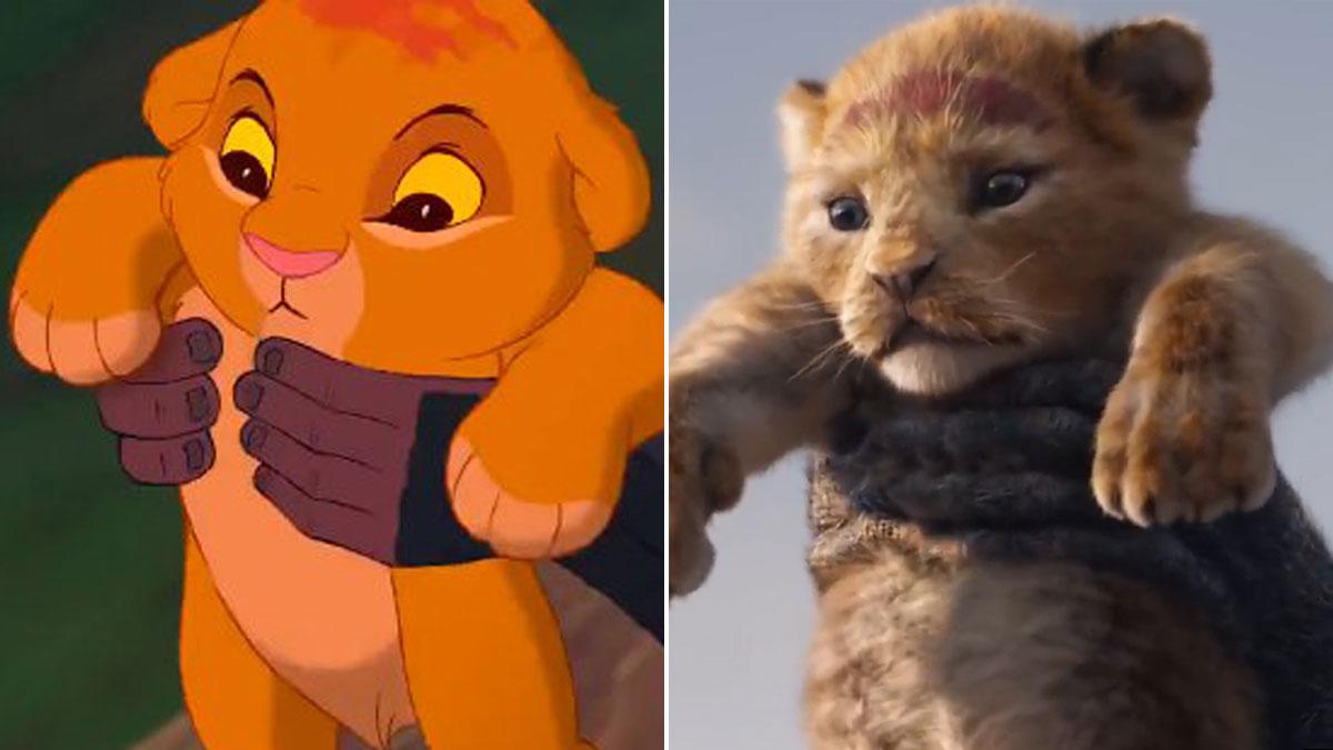 Tráiler de El rey león en acción real.