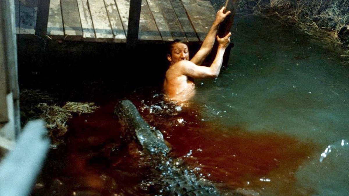 Un fotograma de 'Trampa mortal', de Tobe Hooper.