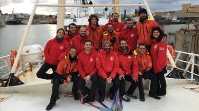 Esta es la tripulación voluntaria del 'Golfo Azzurro': 14 granitos de arena