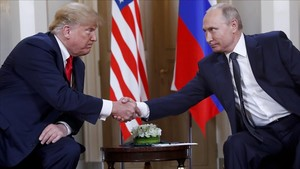 Trump y Putin, en Helsinki, el pasado 16 de julio de 2018.