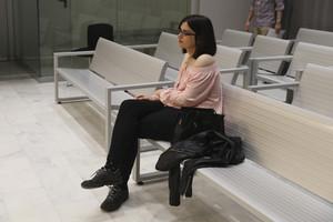 La tuitera murciana Cassandra, este miércoles, durante el juicio en la Audiencia Nacional.