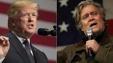 Trump i Bannon, duel de titans