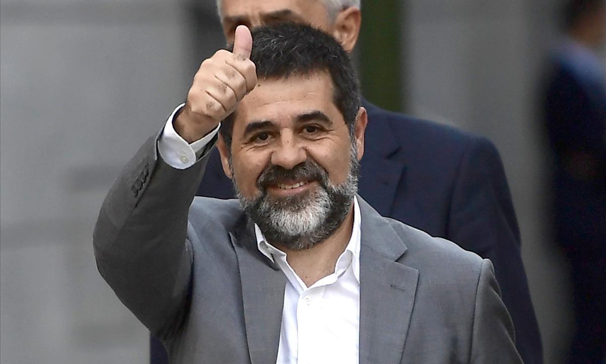 Uno de lospromotores de la Crida Nacional per la República, Jordi Sànchez.