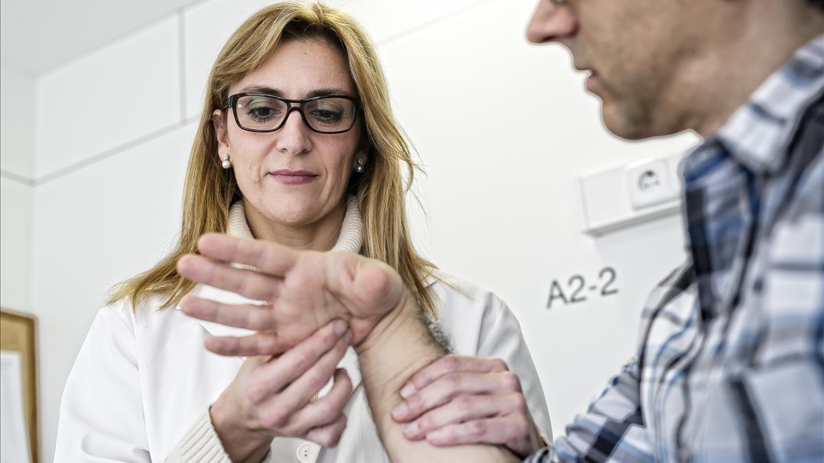 La Seguretat Social reconeix la síndrome del túnel carpià com a malaltia professional