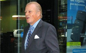 Mor Emilio Ybarra, expresident del BBVA