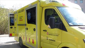 Imatge darxiu duna ambulància del SEM.