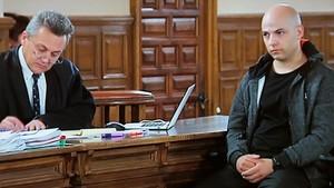 Sergio Morate, en el juicio contra él que se celebra en Cuenca.