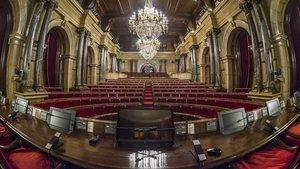 L'abstenció d'ERC deté una ILP per declarar la independència