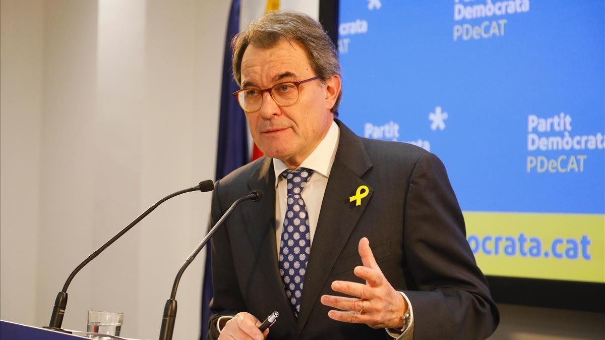 CDC va rebre un milió d'euros en donacions il·legals quan Mas liderava el partit