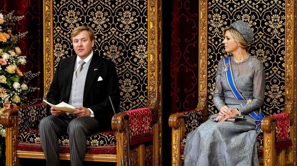 Holanda debat anul·lar la llei que castiga els insults al rei