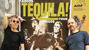 Ariel Roth yAlejo Estivel, excomponentes del histórico grupo musical Tequila.