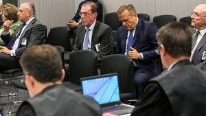 Domingo Parra declara en la Audiencia Nacional.