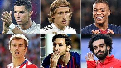 El Madrid golea al Barça en los 30 nominados al Balón de Oro