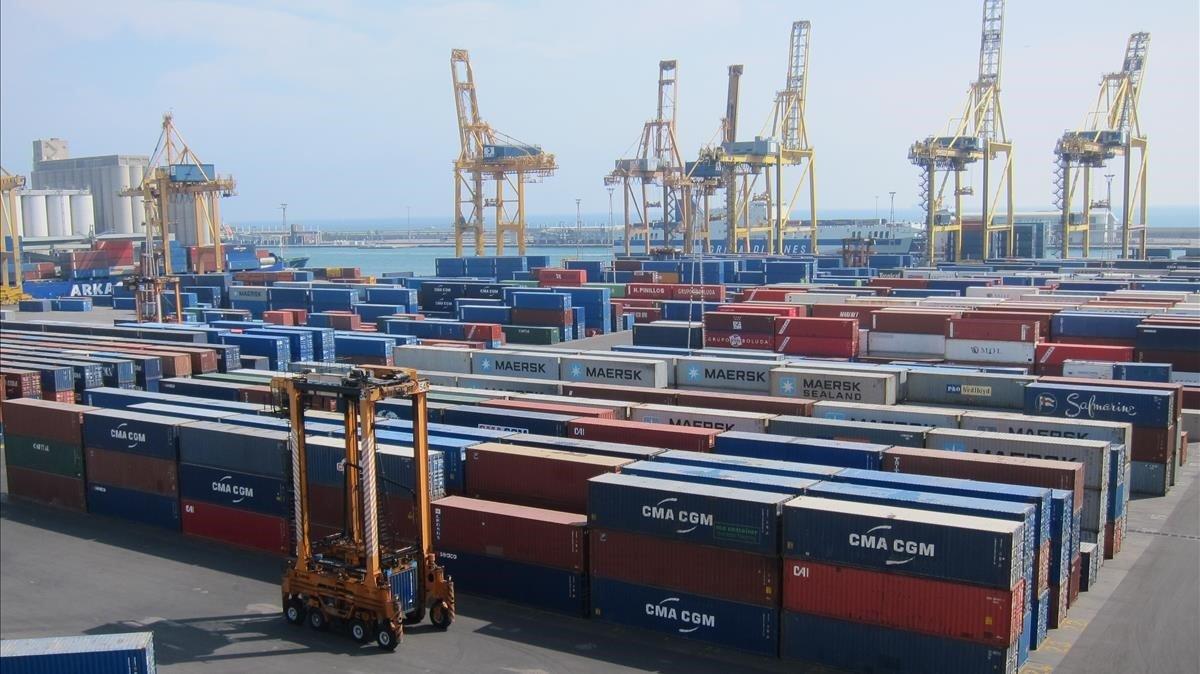 Port de Barcelona percep ja l''efecte coronavirus'