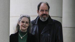 Josep Maria Pou y Vicky Peña, protagonistas de 'Justícia', de Guillem Clua, este miércoles en el TNC.