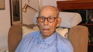 L'home més longeu d'Espanya mor als 110 anys a Girona