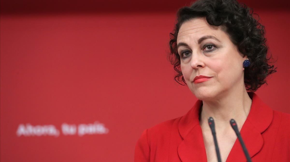 Resultado de imagen de ministra magdalena valerio