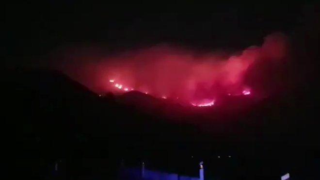 Incendi sense control: 9.000 evacuats i 6.000 hectàrees cremades a Gran Canària