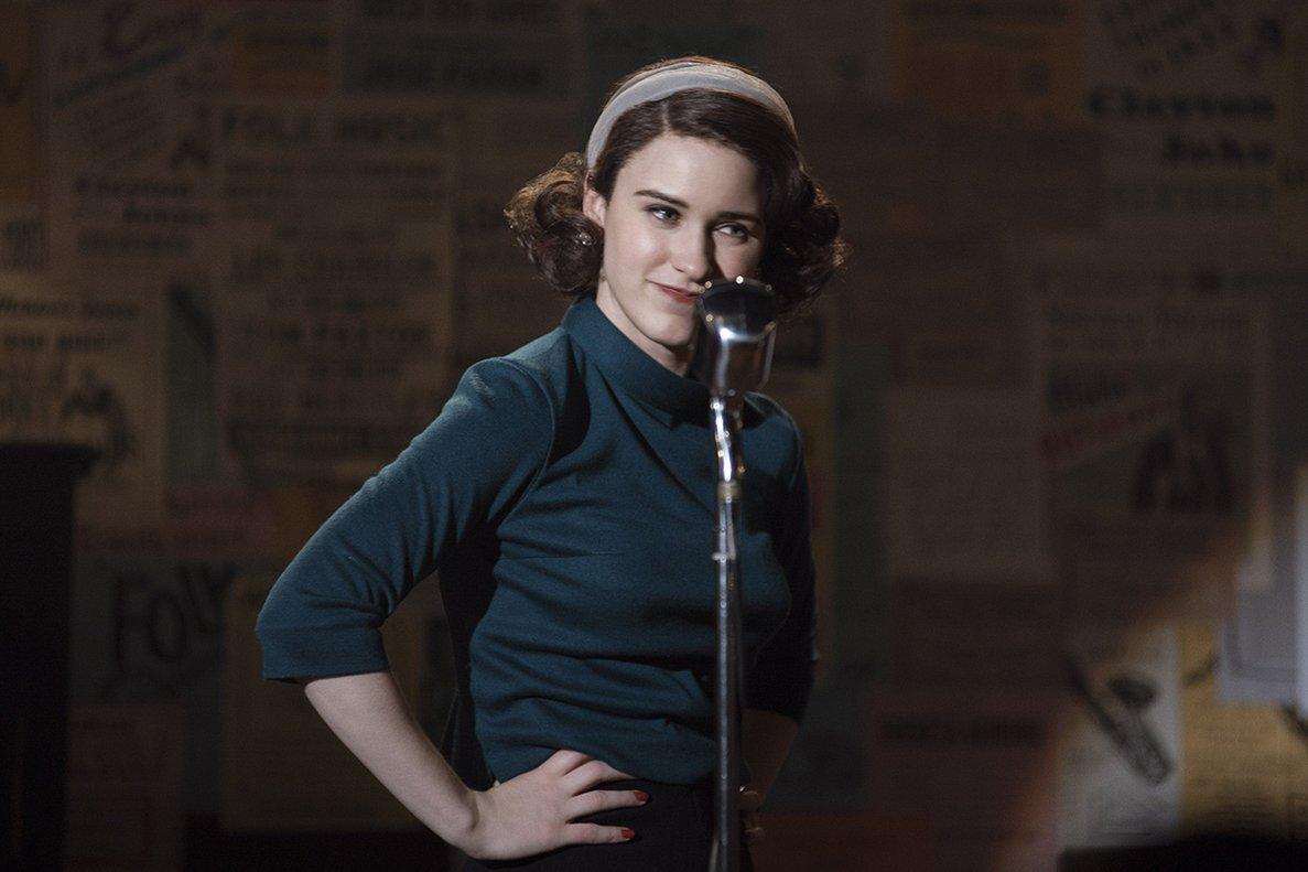 La protagonista intenta triunfar con sus monólogos en el Nueva York de los años 50.