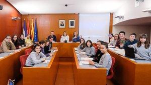 Acto de constitución del Consejo de Adolescencia de Sant Boi, este martes