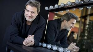 Alberto San Juan, en una foto de marzo del 2016 en el teatro Lliure de Barcelona