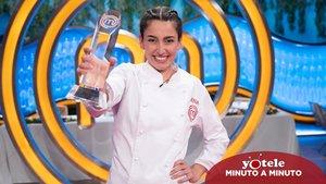 Ana Iglesias, ganadora de la octava edición de 'Masterchef'.