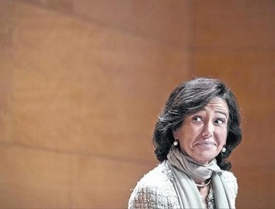 Ana Patricia Botín, presidenta del Banco Santander.