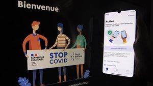 La aplicación francesa StopCovid.