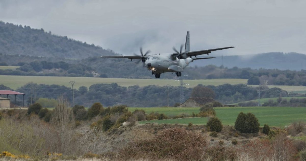 Accidente de un avión militar en Jaca: nueve heridos, al menos uno grave