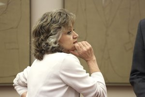 La ministra de Sanidad, María Luisa Carcedo, en su comparecencia en el Congreso.