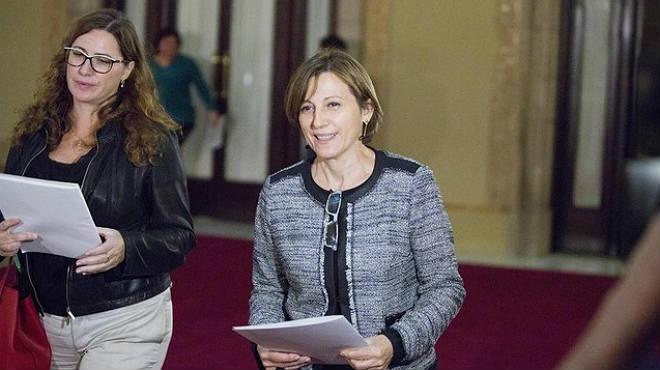 La nova presidenta del Parlament és Carmen Forcadell.