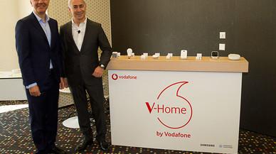 Vodafone y Samsung lanzan una solución para monitorizar el hogar