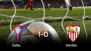 El Celta se queda los tres puntos frente al Sevilla