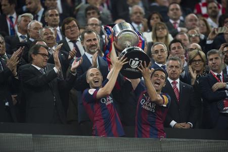 Con la Copa en las manos.