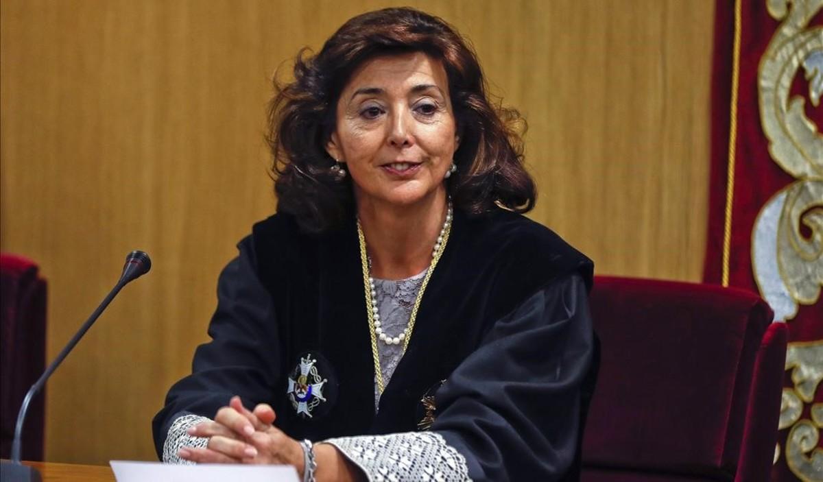 Concepción Espejel toma posesión como presidenta de la Sala de lo Penal de la Audiencia Nacional.