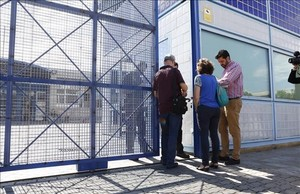 El CIE niegala entrada a los inspectores del ayuntamiento, la semana pasada.