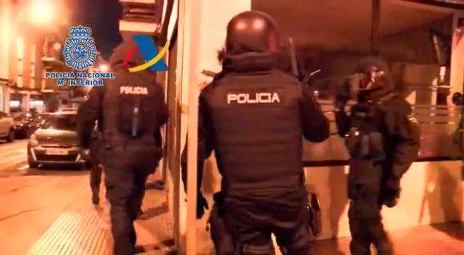 Detenidas 17 personas en una macro operación contra la droga en el Campo de Gibraltar.