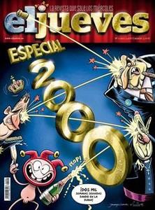 DIANES 3La portada del número especial, obra de Guille i Juanjo Cuerda, dispara amb humor contra la monarquia, la banca i l'Església, objectius històrics en la diana dels dibuixants d''El Jueves'.