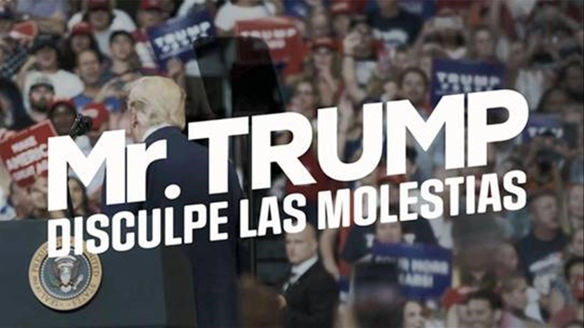 El documental 'Mr. Trump, disculpe las molestias', de Jordi Évole.
