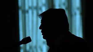 Donald Trump, durante una intervención en la Casa Blanca.