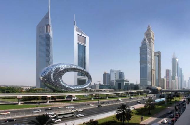 Así quedará el skyline de Dubai tras la construcción del Museo del Futuro.
