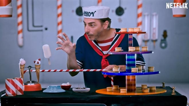 Espot promocional de los helados de 'Stranger things' de Jordi Roca.