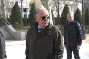 El ex número dos de la Policía,Eugenio Pino.